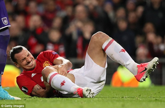 ibrahimovic knee injury
