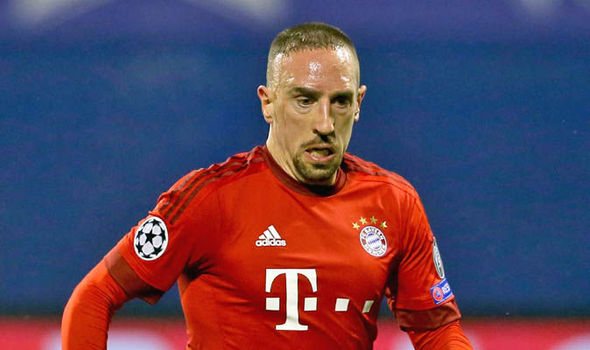 Franck Ribery injured at Inter friendly