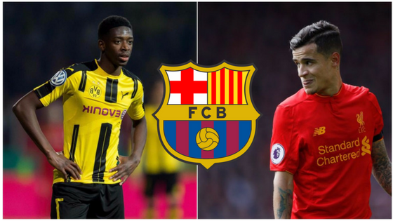 Barcelona's eyes on Demebele and Coutinho