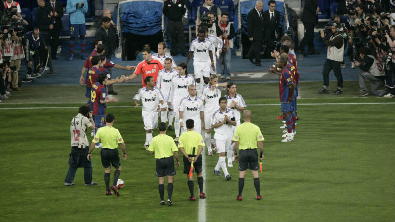 Real Madrid's victory in the UEFA Super Cup against Manchester United has opened up the opportunity for their subsequent opponents to show their respect with a guard of honour