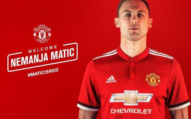 Matic completes move to Machester United