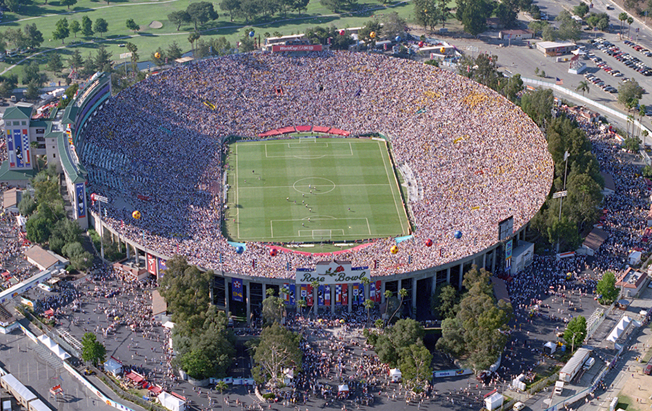 The Rose Bowl, Pasadena, USA