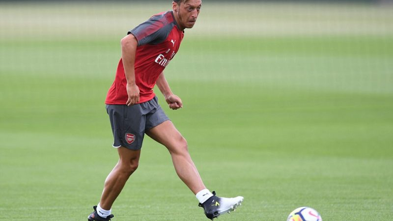 Ozil is not part of Arsenal's squad for the Carabao Cup tie against Doncaster on Wednesday, but has revealed he is expecting to make his comeback soon