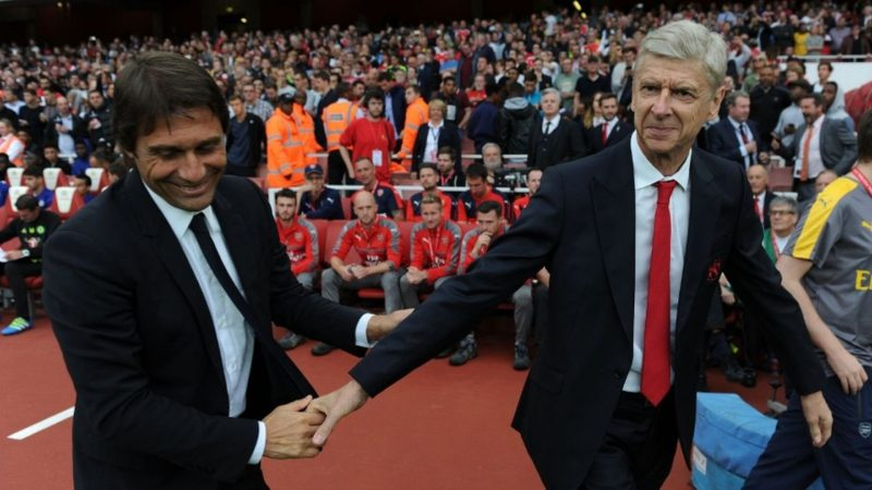 Arsene Wenger's record against fellow managerial big-hitters has come in for sustained criticism over recent seasons but he has enjoyed the better of meetings with Antonio Conte since the ex-Italy boss arrived at Chelsea.