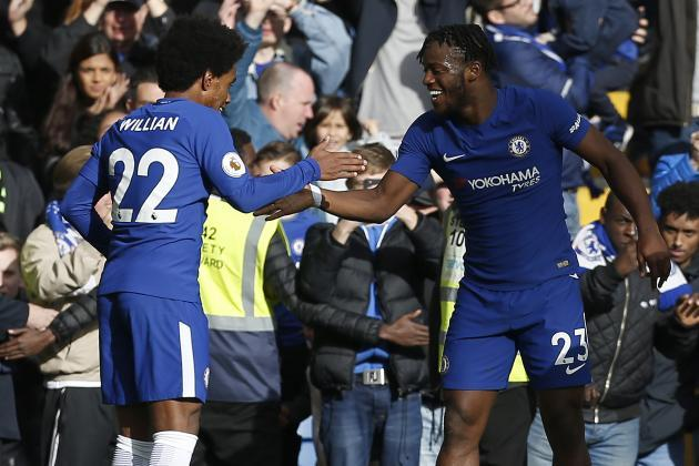 Sper-sub Michy Batshuayi salvages wrecked chelsea to victory
