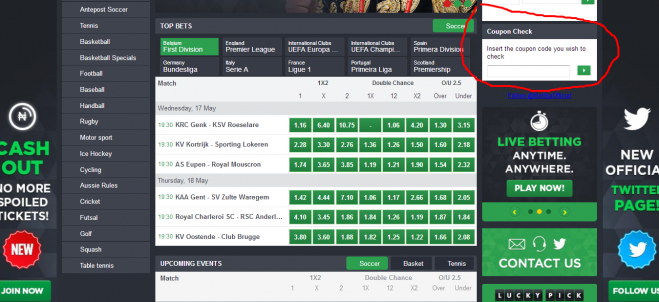 How To Check Your Betslip Or Coupon On Bet9ja -