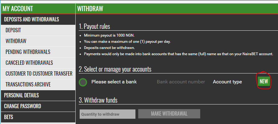 How to withdraw from naiabet_2