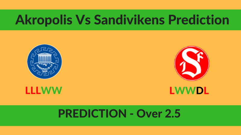Akropolis Vs Sandivikens Prediction