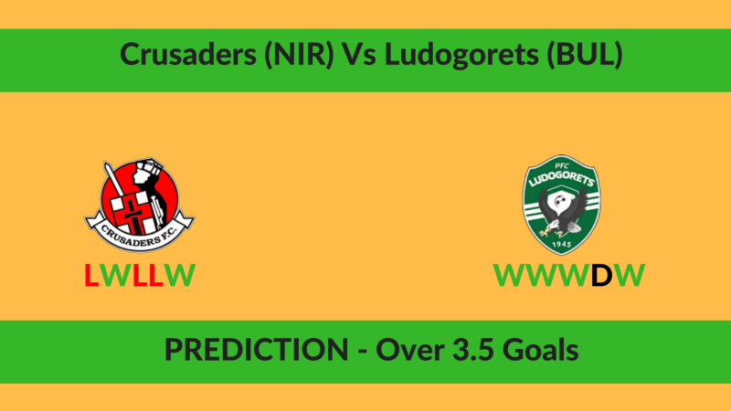 Crusaders (NIR) Vs Ludogorets (BUL)
