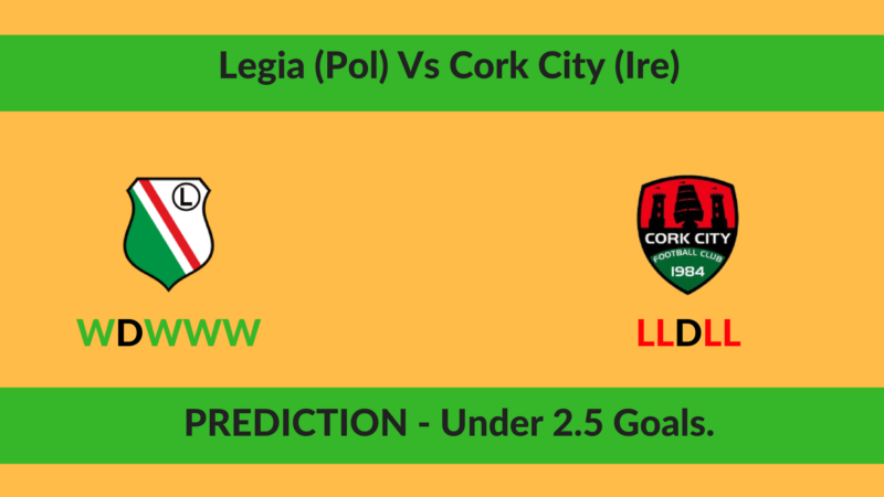 Legia (Pol) Vs Cork City (Ire)