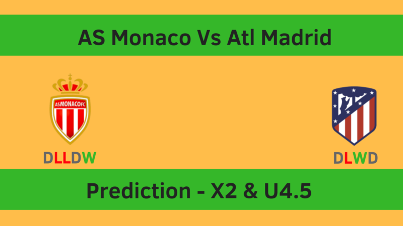 Monaco Vs Atl Madrid